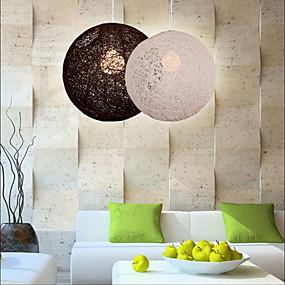 billige Hengelamper-Globe Anheng Lys Omgivelseslys Andre Harpiks Harpiks LED / E26 / E27