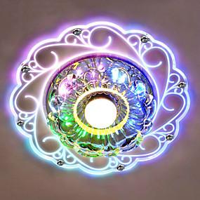 hesapli Gömme Montaj-Gömme Montajlı Işıklar Ortam Işığı Diğerleri Kristal Kristal, LED 220-240V Mavi / Beyaz / Çok Renkli