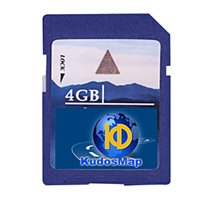 halpa GPS-jäljittimet-Kudos GPS-navigointi kartta (4 / 8g sd-kortti, WinCE järjestelmä)