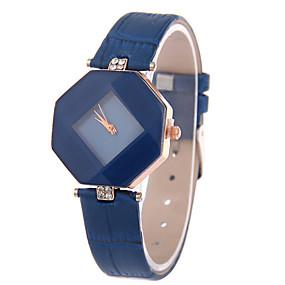cheap -30%-Women's Wrist Watch Quartz Leather Black / White / Red Casual Watch Analog Ladies Charm Fashion - Dark Blue Purple Red One Year Battery Life / Tianqiu 377