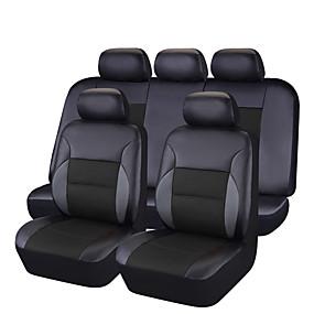 povoljno Posebne ponude-CARPASS Prekrivači za auto-sjedala Presvlake sjedala Blushing Pink / Bež / crni + crna PVC Posao Za Univerzális