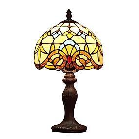 billige Tiffany Lamper-Tiffany Øyebeskyttelse Bordlampe Til Metall 110-120V / 220-240V