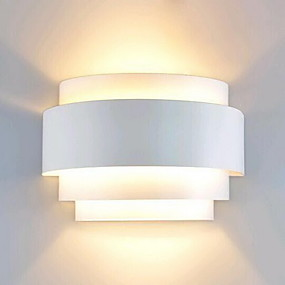 cheap Wall Lights-Lightinthebox Modern / Contemporary Flush Mount wall Lights Pathway Metal Wall Light 110-120V / 220-240V 60W