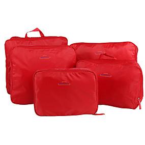 7f79b4ea4c3 5 sets Travel Bag / Travel Organizer / Travel Luggage Organizer / Packing  Organizer Large Capacity / Portable / Foldable Clothes Nylon Travel