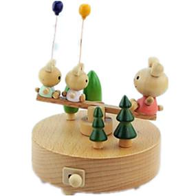 abordables Jouets Musique, Art & Dessin-Boîte à musique Ours Dessin Animé Classique & Intemporel Adorable Enfant Adultes Enfants Cadeau Cadeau