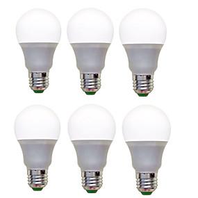 رخيصةأون لمبات LED-مصابيح كروية LED 1200 lm E26 / E27 A60(A19) 12 الخرز LED SMD 2835 ديكور أبيض دافئ أبيض كول 220-240 V, 6PCS / 6 قطع / بنفايات / CCC / ERP / LVD