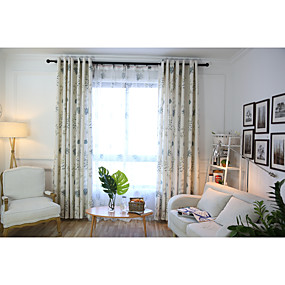 cheap Home Improvement-Custom Made Eco-friendly Curtains Drapes Two Panels / Bedroom