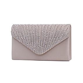 05b6679ff8 Γυναικεία Τσάντες Πολυεστέρας Βραδινή τσάντα   Τρίπτυχο Κρύσταλλο   Στρας  Βαθυγάλαζο   Αμύγδαλο   Κρασί   Τσάντες Γάμου   Τσάντες Γάμου
