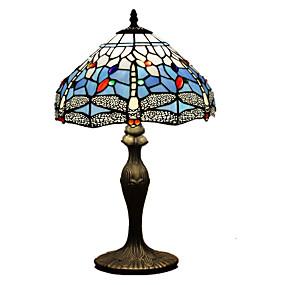 billige Bordlamper-Tiffany Øyebeskyttelse Skrivebordslampe Til Harpiks 110-120V 220-240V