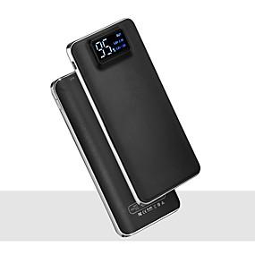 povoljno Snaga banke-20000mah 5v 2a prijenosni powerbank punjač svjetiljka s LED pametni digitalni zaslon vanjski punjač baterija za mobilni telefon