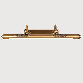 billige Vanity-lamper-LightMyself™ Rustikk / Hytte / Vintage / Moderne / Nutidig Baderomsbelysning Metall Vegglampe 110-120V / 220-240V 0.5 W / Integrert LED