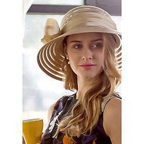 povoljno Kentucky Derby Hat-Til Tkanina Glava-Vjenčanje Special Occasion Neformalan Ured i karijera Šeširi 1 komad