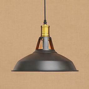 billige Hengelamper-Anheng Lys Omgivelseslys Malte Finishes Metall Mini Stil, designere 220-240V / 100-120V Pære Inkludert / E26 / E27