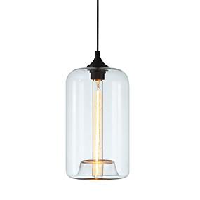 abordables Plafonniers-LWD Cylindre Lampe suspendue Lumière d'ambiance - Style mini, 110-120V / 220-240V Ampoule non incluse / 5-10㎡ / E26 / E27