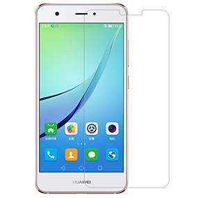 tanie Zabezpieczenia ekranu telefonu komórkowego-Ochrona ekranu na Huawei Nova Szkło hartowane 1 szt. Folia ochronna ekranu Wysoka rozdzielczość (HD) / Twardość 9H / 2.5 D zaokrąglone rogi