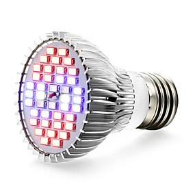 halpa LED-kasvatusvalot-1kpl 8 W Kasvava hehkulamppu 800-1200LM E14 GU10 E26 / E27 40 LED-helmet SMD 5730 Valkoinen Punainen Sininen 85-265 V / 1 kpl / RoHs / FCC