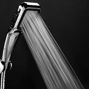 povoljno Tuš glave-Glava za tuš pod tlakom 300 rupa s kromiranim četvrtastim vodom za pranje vodom za pranje vodom za spašavanje vode