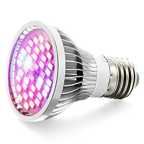 billige LED Økende Lamper-800-1200lm e27 voksende pære 40 ledperler smd 5730 varm hvit uv (blacklight) blå rød 85-265v