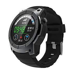 ieftine Special Campaign-KING-WEAR® YYS958 Bărbați Uita-te inteligent Android iOS Bluetooth 2G GPS Sporturi Rezistent la apă Monitor Ritm Cardiac Măsurare Tensiune Arterială Puls Tracker Cronometru Pedometru Monitor de