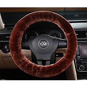 economico Accessori per interno auto-protezione della ruota dell'automobile della copertura della rotella della lana del lana faux fino a 38cm
