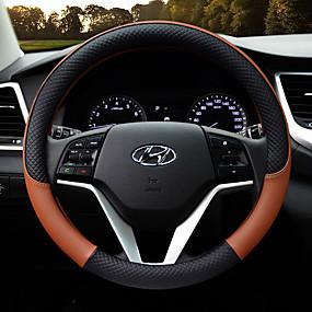 economico Accessori per interno auto-Copristerzo per auto Pelle 38cm Viola / Giallo / Caffè Per Hyundai Motori generali Tutti gli anni