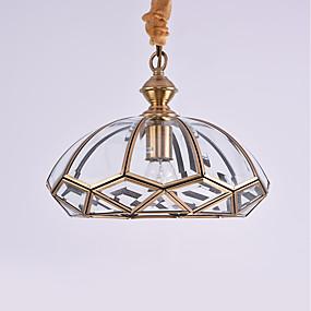 abordables Plafonniers-Lampe suspendue Lumière dirigée vers le bas Bronze huilé Métal Style mini 110-120V / 220-240V Ampoule non incluse / E26 / E27