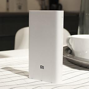billige Eksterne batterier-Xiaomi 20000 mAh Til Power Bank Eksternt batteri 5-12 V Til Til Batterilader Restaurering beskyttelse / QC 2.0 LED