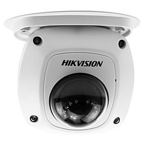 billige IP-kameraer-hikvision® ds-2cd2542fwd-er 4mp wdr mini dome ip kamera (poe 10m ir vanntett gjenkjenningsplugg og spille innebygd mikrofon lydutgang)