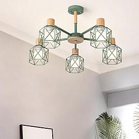 abordables Candelabros-5-luz Lámparas Colgantes Luz Ambiente Acabados Pintados Metal 110-120V / 220-240V Bombilla no incluida / E26 / E27