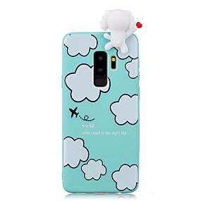 levne Pouzdra telefonu-Carcasă Pro Samsung Galaxy S9 Plus / S9 Nárazuvzdorné / Vzor / Udělej si sám Zadní kryt Komiks / 3D  komiks Měkké TPU pro S9 / S9 Plus / S8 Plus