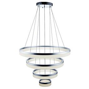 ieftine Cumpără după Cameră-Lumini pandantiv Lumini Ambientale Pictate finisaje Metal Acrilic Ajustabil, Intensitate Luminoasă Reglabilă, Dimmable cu telecomandă 110-120V / 220-240V Dimmable cu telecomandă Sursa de lumină LED