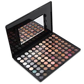 billige Øjenskygger-88 farver Kombination Øjenskygger / Eye Shadow / Pudder Pudder Daglig makeup / Rygende makeup / Mat