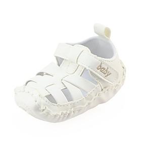 povoljno Cipele i torbe-Dječaci / Djevojčice Umjetna koža Ravne cipele Dijete (9m-4ys) Udobne cipele / Cipele za bebe / Cipele za novorođenčad Mat selotejp Bež / Kava / Braon Proljeće
