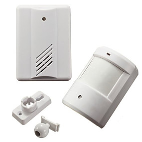 billige Dørklokkesystemer-Doorbell Trådløs En til en dørklokke Ding dong Overflate Montert Ringeklokke
