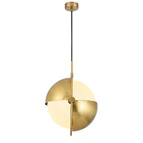 abordables Plafonniers-LightMyself™ Globe Lampe suspendue Lumière d'ambiance Finitions Peintes Métal Ajustable 110-120V / 220-240V Ampoule non incluse / E26 / E27