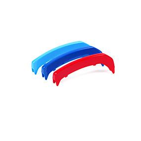 povoljno Ukrasna prednja rešetka automobila-3pcs Automobil Ukrasna prednja rešetka automobila Posao Vrsta lijepljenja For Prednja rešetka automobila For BMW 3 serije GT Sve godine