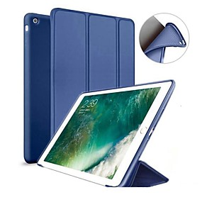 cheap Tablet Accessories-Case For Apple iPad (2018) / iPad Pro 11'' / iPad (2017) with Stand / Magnetic Full Body Cases Solid Colored Hard Silicone for iPad Mini 5 / iPad New Air(2019) / iPad Air / iPad Pro 10.5