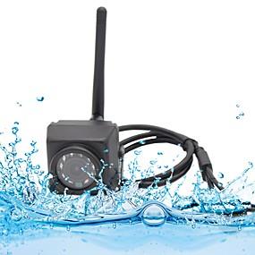 billige Utendørs IP Nettverkskameraer-hqcam 720p vanntett ip66 hd mini wifi ip kamera bevegelsesdeteksjon nattvisjon sd kortstøtte android iphone p2p 1mp