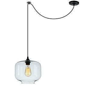 abordables Plafonniers-Circulaire / Globe / Mini Lampe suspendue Lumière dirigée vers le bas Verre Verre Style mini, Design nouveau, Adorable 110-120V / 220-240V Ampoule non incluse