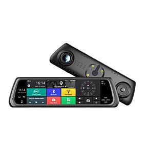 economico DVR per auto-Factory OEM K920 1080p HD / Visione notturna Automobile DVR 170 Gradi Angolo ampio 12 MP 10.1 pollice IPS Dash Cam con Wi-fi / GPS / Visione notturna Registratore per auto