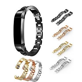 hesapli Smartwatch Bantları-Watch Band için Fitbit Alta HR / Fitbit Alta Fitbit Spor Bantları / Takı Tasarımları Paslanmaz Çelik / Seramik Bilek Askısı