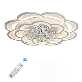 tanie Mocowanie przysufitowe-UMEI™ Geometric Shape / Nowość Podtynkowy Światło rozproszone Malowane wykończenia Metal Akryl Kryształ, Nowy design 110-120V / 220-240V Ciepła biel / Biały / Przyciemnianie pilotem Źródło światła