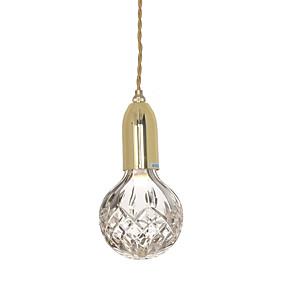 abordables Plafonniers-Ecolight™ Lampe suspendue Bronze Plaqué Métal Verre Style mini, Ajustable, Design nouveau 110-120V / 220-240V Blanc Crème / Blanc Neige Source lumineuse de LED incluse / G9 / LED Intégré / FCC