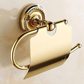 cheap Toilet Paper Holders-Toilet Paper Holder New Design / Cool Modern Brass 1pc Toilet Paper Holders Wall Mounted
