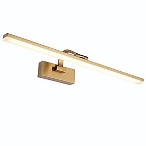 hesapli Asma Dolap Işıkları-Mat modern / çağdaş banyo aydınlatma banyo metal duvar ışık ip67 ac100-240v 9 w vanity ışık