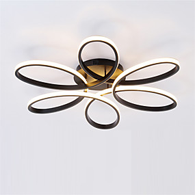 cheap Ceiling Lights-Sputnik Flush Mount Lights Ambient Light Painted Finishes Metal Silica gel New Design AC100-240V Warm White / White / Dimmable With Remote Control