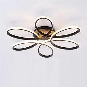 tanie Mocowanie przysufitowe-Sputnik Lampy sufitowe Światło rozproszone Malowane wykończenia Metal Żel krzemionkowy Nowy design AC100-240V Ciepła biel / Biały / Przyciemnianie pilotem
