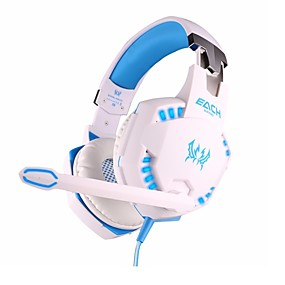 voordelige Gaming-KOTION EACH G2100 Gaming Headset Bekabeld Gaming met microfoon