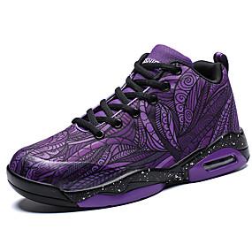 baratos Sapatos Esportivos Femininos-Mulheres Tricô / Lona Primavera & Outono Esportivo / Casual Tênis Basquete Sem Salto Roxo / Vinho