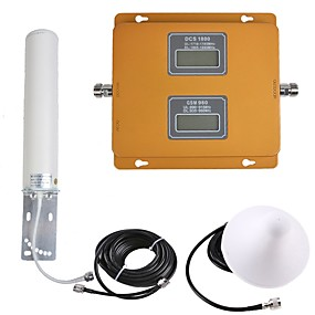 c8ed7531843b04 GSM/DCS Mobile Phone Signal Repeater Signal Amplifier 900/1800 Dual band